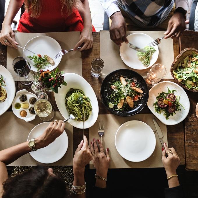 Sapresti-Déjeuner en famille