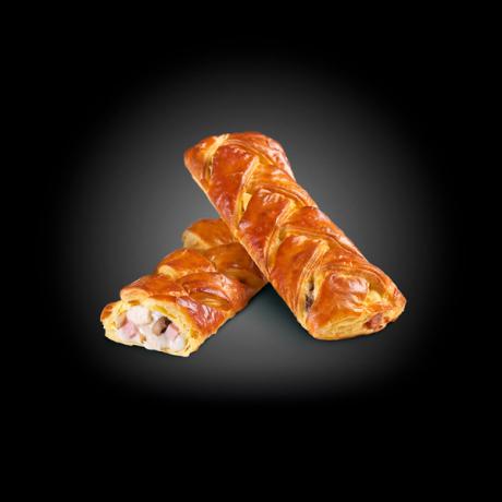Braid puff pastry